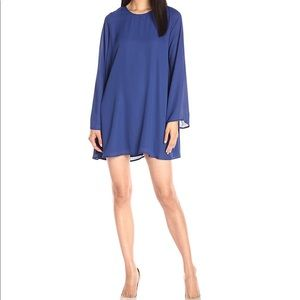 Lucca Couture long sleeve shift dress. NWT
